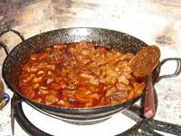Fleisch in Spanien