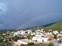 Regenbogen auf Ibiza