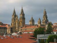 Kirche in Santiago de Compostela