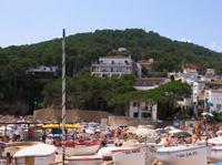Küste in Katalonien