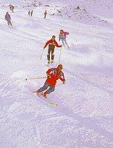 Skigebiet Spanien