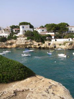 Boote in Menorca