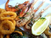Fischplatte in Spanien