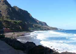 Strand im Norden von Teneriffa