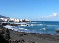 Strand von Puerto de la Cruz, Teneriffa
